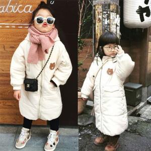 ベビー服 子供服 ダウンコート 赤ちゃん コート 中綿ジャケット 防寒 保温 アウターウエア 女の子 男の子 フード付き可愛い