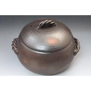 土鍋 栗型ごはん鍋 5合炊き 万古焼 ふっくらご飯炊き鍋 可愛い形のごはん鍋 40%OFF アウトレット商品 うつわの翔山|syozan