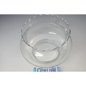 金魚鉢 ガラス製金魚鉢 苔アクアリュウム テラリューム (金魚は別売りです。)|syozan