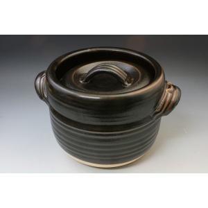 ごはん炊き鍋/土鍋 万古焼/土釜3合炊き/萬古焼/アウトレット商品|syozan