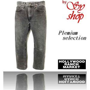 ハリウッドランチマーケット HRM ジーンズ 29 グレイ 索3196|syshoping0301