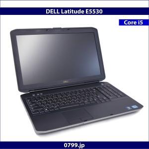DELL Latitude E5530 Windows7 Pro 64Bit Core i5 2.6GHz 2GB 320GB DVDマルチ DtoDリカバリ 無線LAN 内蔵