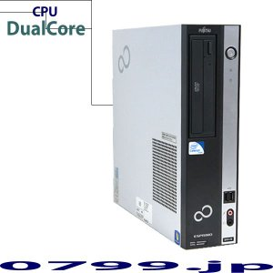 Sale品 Fujitsu ESPRIMO D551/D Celeron Dual Core G53...