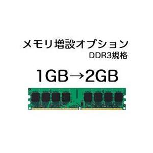 メモリ増設オプション 1GB→2GB (DDR3規格)|system0799jp