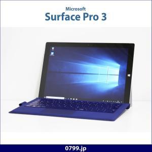中古タブレット Microsoft Surface Pro 3 キーボード付 Windows10 Core i5 4GB SSD128GB 12インチ 無線LAN Bluetooth カメラ 内蔵|system0799jp