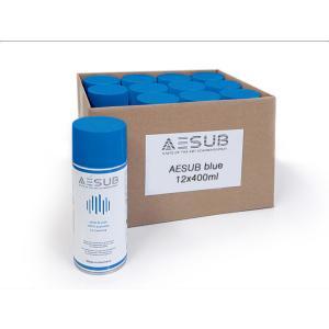 AESUB(エイサブ)ブルースプレー 400ml  3Dスキャナ用昇華スプレー 1ダース(12缶)|systemcreate-pro
