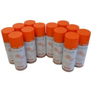 AESUB(エイサブ)オレンジスプレー 400ml  3Dスキャナ用昇華スプレー 長時間持続タイプ 1ダース(12缶)|systemcreate-pro