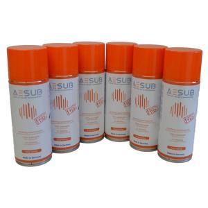 AESUB(エイサブ)オレンジスプレー 400ml  3Dスキャナ用昇華スプレー 長時間持続タイプ 6缶セット|systemcreate-pro