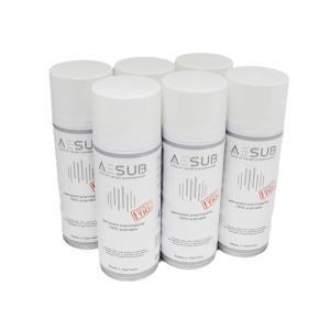 3Dスキャナ用粉末塗布スプレー AESUB(エイサブ)ホワイト 400ml 6缶セット|systemcreate-pro