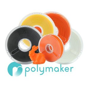 3d Printer Consumables Symbol Of The Brand Polymaker Polymax Pla Yellow 1.75mm 750g