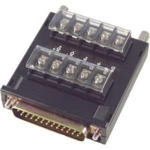 DT-422 Dsub25ピンコネクタ⇔端子台変換アダプタ (KS-1-HS、KS-10P-HS、KS-422R対応)|systemsacom