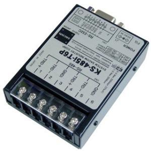 KS-485i-T6P RS232C⇔RS485変換ユニット【絶縁タイプ】(ACアダプタ仕様)|systemsacom
