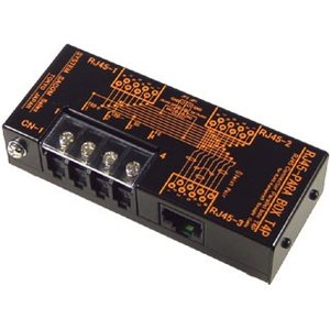RJ45-PARA BOX T4P 信号分岐用パラレルボックス RJ45/3ヶ、端子台4P/1ヶ ケーブル中継|systemsacom