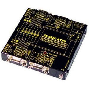 SS-232C-BYP2 RS232Cラインモニタ用分岐ユニット(電源不要)(TXD、RXD信号分岐)|systemsacom