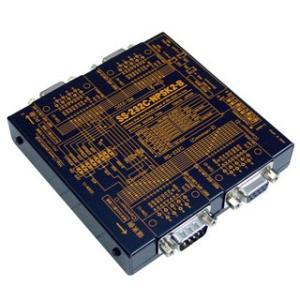 SS-232C-NPSK2-B 【バーコードリーダー等DCEを2分配】RS232C 1対2簡易分配ユニット(電源不要) (入力側:周辺機器接続)|systemsacom