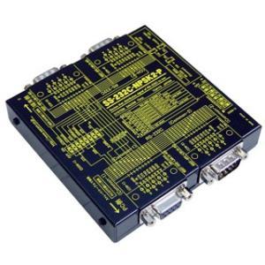SS-232C-NPSK2-P 【パソコン等DTEを2分配】RS232C 1対2簡易分配ユニット(電源不要)(入力側:PC接続タイプ)|systemsacom