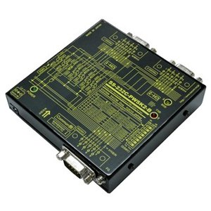 SS-232C-PWSK2-B 【バーコードリーダー等DCEを2分配】RS-232C 1対2分配/2対1統合ユニット コモン側 周辺機器接続タイプ|systemsacom