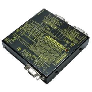 SS-232C-PWSK2-P 【パソコン等DTEを2分配】RS-232C 1対2分配/2対1統合ユニット コモン側 PC接続タイプ|systemsacom