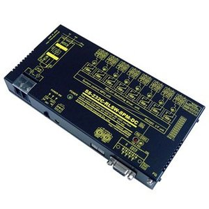 SS-232C-RLSW-8PM-DC RS232Cリレースイッチユニット[独立8ch]【絶縁】[メイク接点X8ch](DC10-32V仕様)|systemsacom
