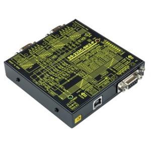 SS-232C-SK2-P USB(COM)搭載 RS-232C 4分配2統合ユニット【コモン側 PC接続タイプ】|systemsacom