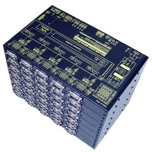 SS-LAN-232C-MP35-ST-AC LAN(Ethernet)/RS232Cマルチプレクサ (AC90-250V仕様) systemsacom