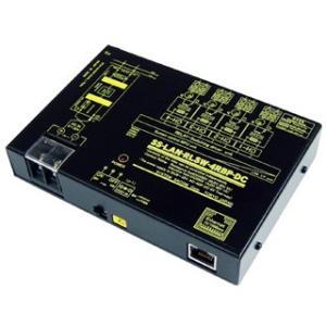 SS-LAN-RLSW-4RBP-DC LAN(Ethernet)リレースイッチユニット[独立4ch](DC10-32V仕様)[(B)接点X4ch]|systemsacom