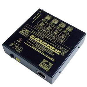 SS-LAN-RLSW-4RMBP-ADP LAN(Ethernet)リレースイッチ[独立4ch](ACアダプタ仕様)[(A)(B)接点X各2ch]|systemsacom