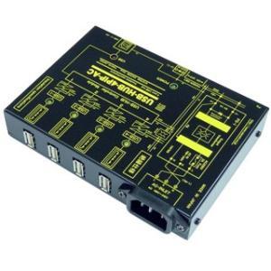 USB-HUB-4PIP-AC USB 高速トランス絶縁HUB (AC100-240V仕様)|systemsacom