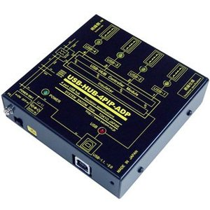 USB-HUB-4PIP-ADP USB 高速トランス絶縁HUB (ACアダプタ仕様)|systemsacom