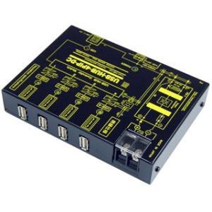 USB-HUB-4PIP-DC USB 高速トランス絶縁HUB(DC10V-32V仕様)|systemsacom