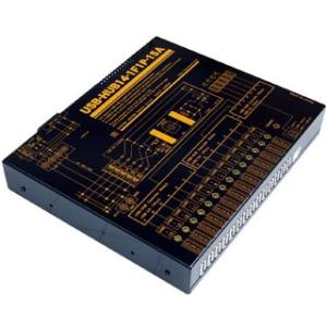 USB-HUB14-1F1P-15A 業務用大容量14ポートUSBHUB(USB2.0)(AC100-240V仕様)(1ポート当たり1A/合計13A)|systemsacom