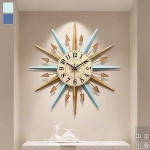 2020新作 掛け時計 北欧 おしゃれ かわいい 音がしない ギフト 掛時計 入学祝い 玄関 インテリア時計 ブルー ライトブルー ゴールド 子供/[aaz64]|syu