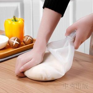 小麦粉をこねる シリコン製 キッチン用品 製菓道具 製パン そば打ち クッキー お菓子 手作り 食品保存袋 多機能 バッグ 繰り返し使え 家庭用 業務用 syu