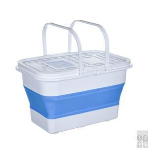 つけ置き 掃除 たらい ウォッシュタブ 掃除用具 ソフトバケツ 折りたたみ 洗い桶 たらい 大容量 畳んでコンパクト収納 ソフトバケツ コンパクトバケツ シリコン syu