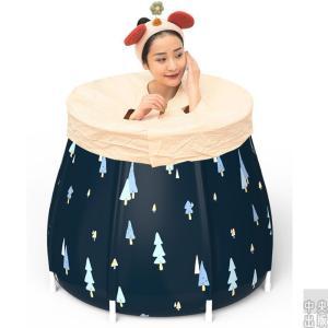 新作 折り畳み式浴槽 子供用 大人用 滑り止め お風呂桶 全身浴プール 入浴 簡易浴槽 収納簡単 syu