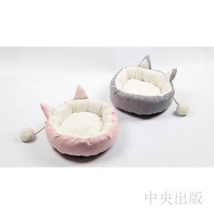 犬/ネコ小屋 ドッグベッド ペット用品 かわいい ふわふわ 取り外し可 ドッグ 円の巣 3サイズ syu