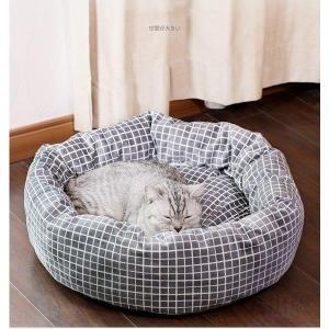 ペットハウス ペットベッド 犬/ネコの巣 ペット用品 かわいい ふわふわ ドッグ 猫用 四季通用 保温 さわやか 品質よい 滑り止め サイズM-L syu