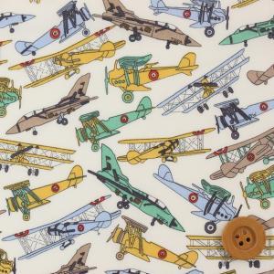 リバティプリント タナローン『Tom's Jet トムズ ジェット』バードックブラウン(サンドウオリジナルカラー/3631176)