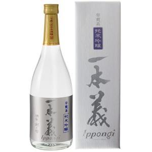 一本義 純米吟醸辛爽系(からさわけい) 720ml|syuho