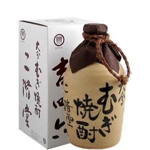 二階堂 吉四六陶器 麦焼酎 25度 720ml|syuho