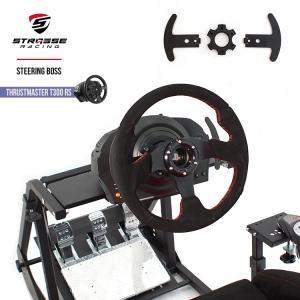 STRASSEレーシング ステアリングボス Thrustmaster T300RS専用 ハンドルボス スラストマスター T300RS GT Edition Racing Wheel ステアリング交換 ハンコン|syumicolle