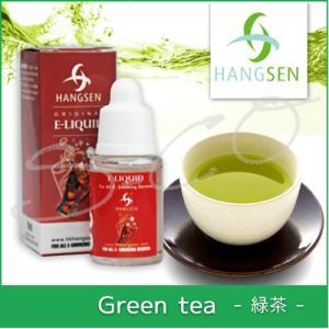 電子タバコ用リキッド 緑茶味 10ml HANGSEN ハンセン|syumicolle