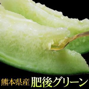 (メロン 肥後グリーン 大玉メロン 2玉入(合計約4kg)[...