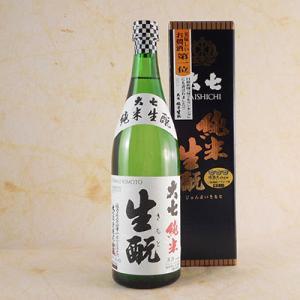母の日 ギフト 日本酒 大七 生もと 純米 箱入 720ml  福島県 大七酒造