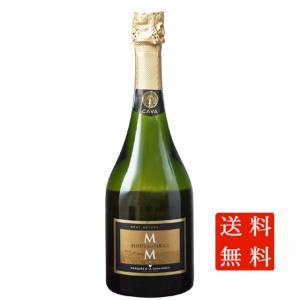 バレンタイン プレゼント ワイン カバ・レセルバ・デ・ラ・ファミリア・ブルット・ナトゥレ / モニストロル 白 750ml 12本 スペイン スパークリング 送料無料|syurakushop