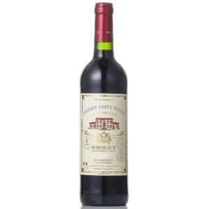 敬老の日 ギフト プレゼント ワイン クロズリー・サン・ヴァンサン 赤 750ml フランス ボルドー 赤ワイン ボルドー金賞トリプル受賞ワイン|syurakushop