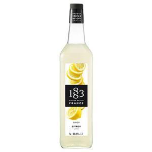 1883 メゾンルータン レモンシロップは、搾りたてのレモンとハチミツのまろやかな香り。レモンの酸味...