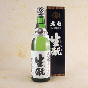ホワイトデー ギフト プレゼント お酒 大七 生もと 本醸造(箱入) 720ml (福島県/大七酒造/日本酒)|syurakushop