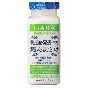 ホワイトデー ギフト プレゼント 八海山 乳酸発酵の麹あまさけGABA (ギャバ) 118g 40本 送料無料 クール便 新潟県|syurakushop