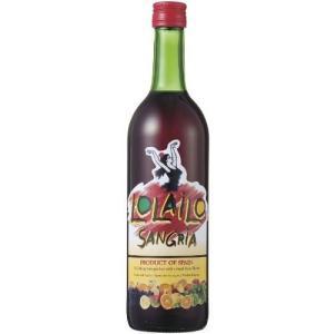 母の日 ギフト プレゼント ワイン サングリア・ロライロ 750ml (スペイン/赤ワイン)